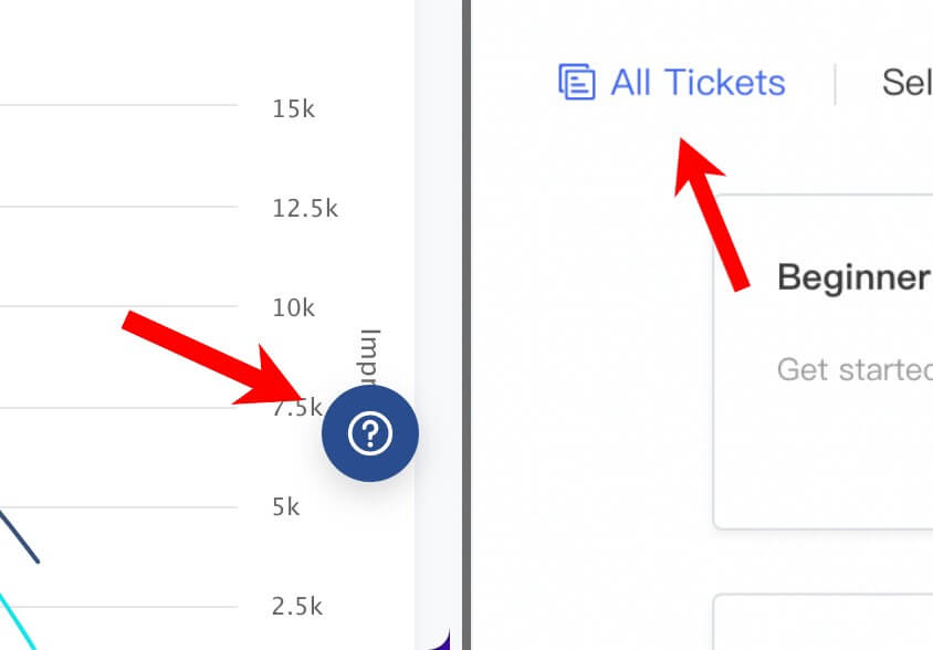 tiktok tickets and support
